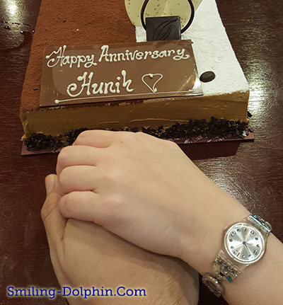 Our Anniversary Cake