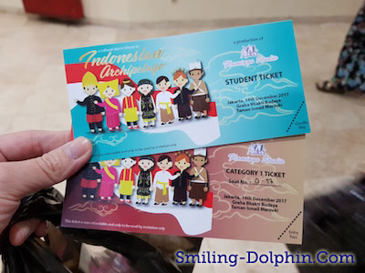Indonesian Archipelago Ticket