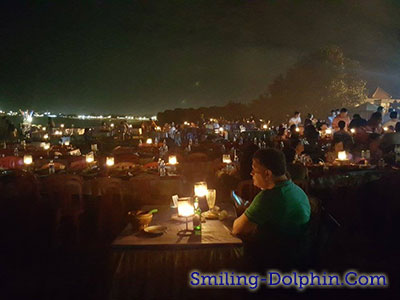Romantic View @ Jimbaran Beach Restaurant