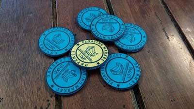 Floating Market Coins