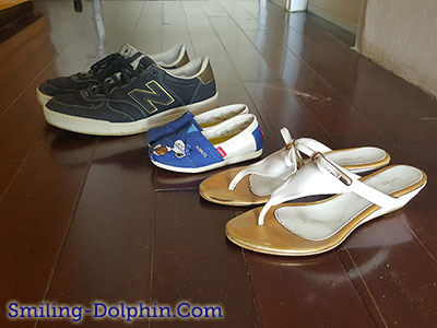 Our sandals ^^