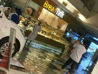 Flood inside TA