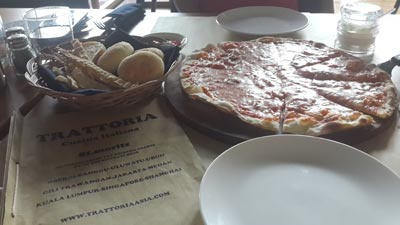 Our Lunch @ Trattoria Puri