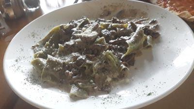Our Pasta - Pappardelle verdi ai funghi