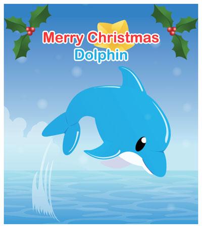 Christmas Dolphn