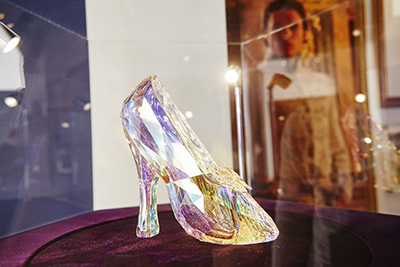 Cinderella Swarovski Glass Slipper