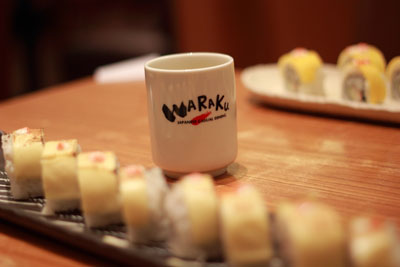 Dinner at Waraku Grand Indonesia