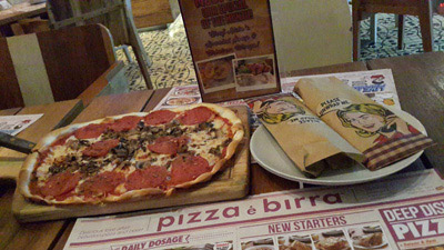 Dinner Date @ Pizza e Birra