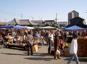 Flea Market in Japan