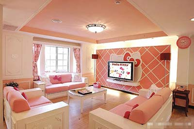 Hello Kitty - Living Room