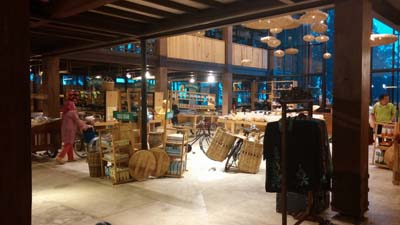 Dusun bambu market