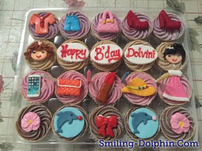 My Birthday Ice Cream Cupcakes