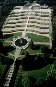 Sanssouci - Bird's Eye View