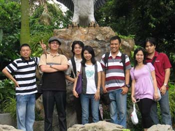 Us in Jurong Bird Park