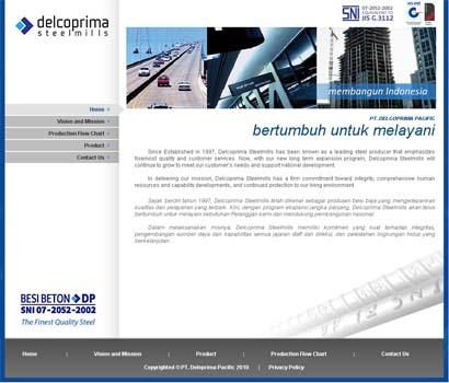 Delcoprima Official Website