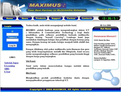 Maximus Website