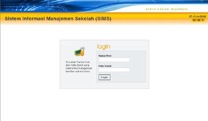 Sistem Informasi Manajemen Sekolah (SIMS)
